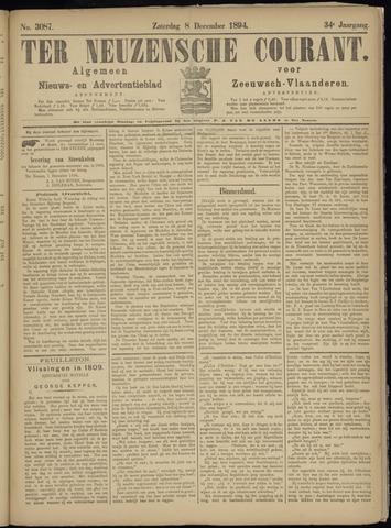 Ter Neuzensche Courant. Algemeen Nieuws- en Advertentieblad voor Zeeuwsch-Vlaanderen / Neuzensche Courant ... (idem) / (Algemeen) nieuws en advertentieblad voor Zeeuwsch-Vlaanderen 1894-12-08