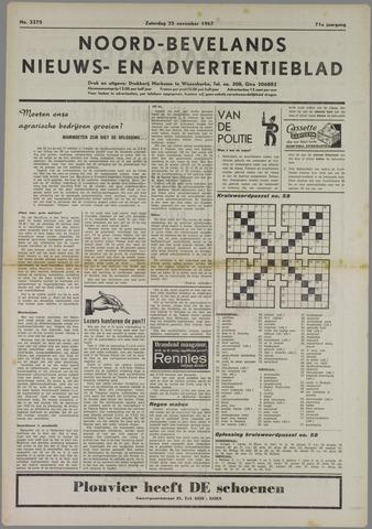 Noord-Bevelands Nieuws- en advertentieblad 1967-11-25