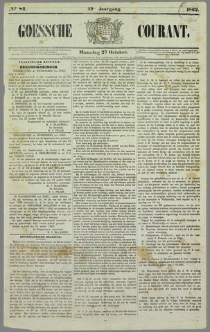 Goessche Courant 1862-10-27