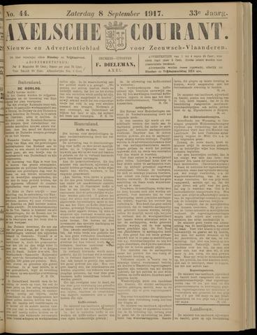 Axelsche Courant 1917-09-08