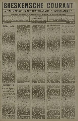 Breskensche Courant 1924-02-23