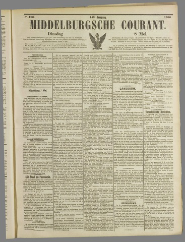 Middelburgsche Courant 1906-05-08
