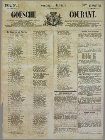 Goessche Courant 1882