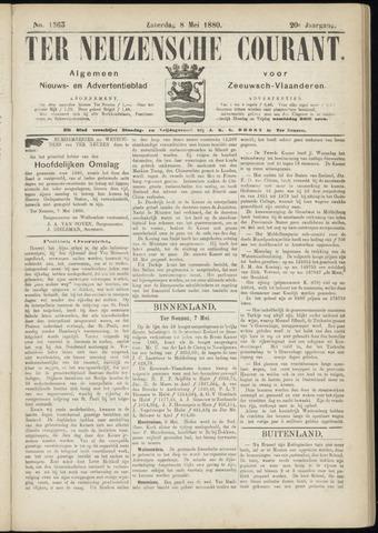 Ter Neuzensche Courant. Algemeen Nieuws- en Advertentieblad voor Zeeuwsch-Vlaanderen / Neuzensche Courant ... (idem) / (Algemeen) nieuws en advertentieblad voor Zeeuwsch-Vlaanderen 1880-05-08