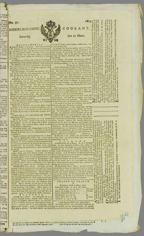 Middelburgsche Courant 1809-03-11