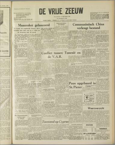 de Vrije Zeeuw 1958-10-13