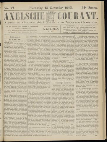 Axelsche Courant 1915-12-15