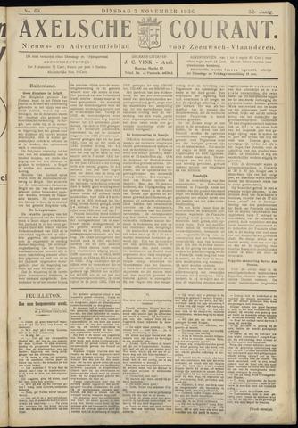 Axelsche Courant 1936-11-03