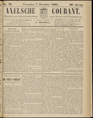 Axelsche Courant 1904-12-07