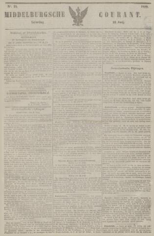 Middelburgsche Courant 1850-06-22