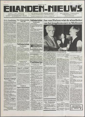Eilanden-nieuws. Christelijk streekblad op gereformeerde grondslag 1985-05-14