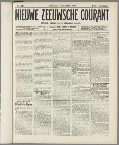 Nieuwe Zeeuwsche Courant 1907-09-17