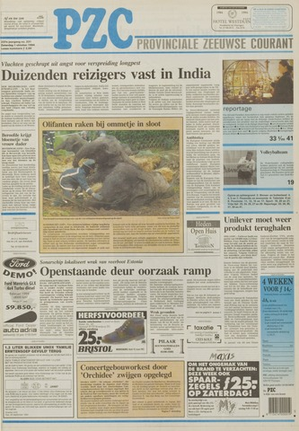 Provinciale Zeeuwse Courant 1994-10-01