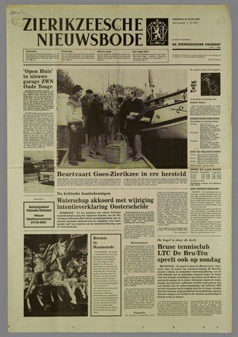 Zierikzeesche Nieuwsbode 1985-06-14
