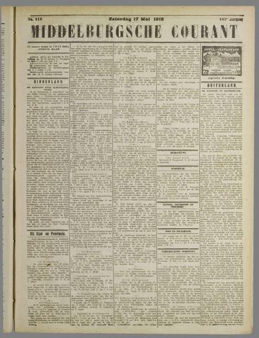 Middelburgsche Courant 1919-05-17