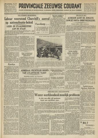 Provinciale Zeeuwse Courant 1951-02-08