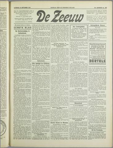 De Zeeuw. Christelijk-historisch nieuwsblad voor Zeeland 1937-09-18