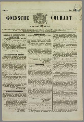 Goessche Courant 1853-07-25