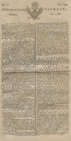 Middelburgsche Courant 1775-07-01