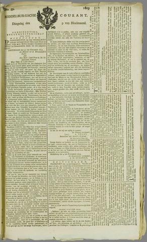 Middelburgsche Courant 1809-05-09