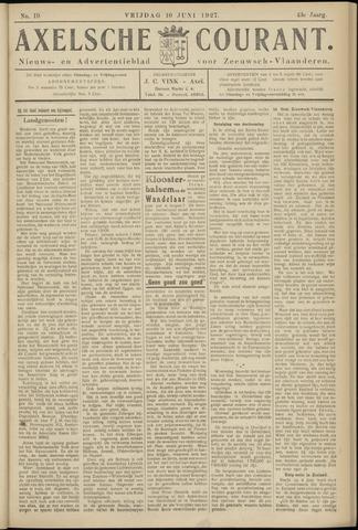 Axelsche Courant 1927-06-10