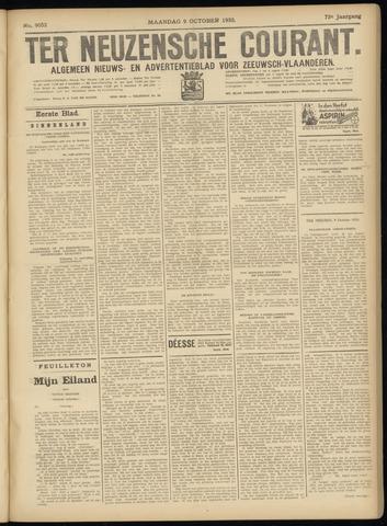 Ter Neuzensche Courant. Algemeen Nieuws- en Advertentieblad voor Zeeuwsch-Vlaanderen / Neuzensche Courant ... (idem) / (Algemeen) nieuws en advertentieblad voor Zeeuwsch-Vlaanderen 1933-10-09