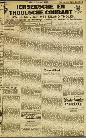 Ierseksche en Thoolsche Courant 1929-02-01
