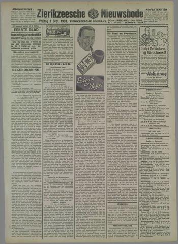 Zierikzeesche Nieuwsbode 1933-09-08