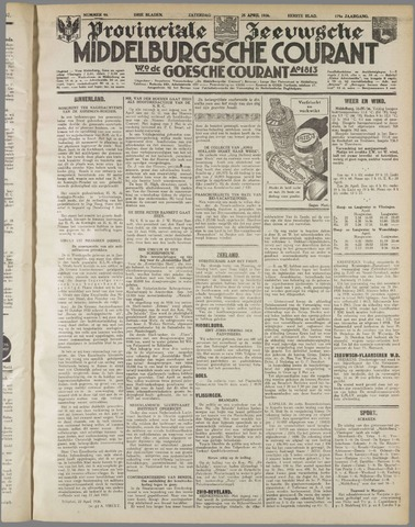 Middelburgsche Courant 1936-04-25