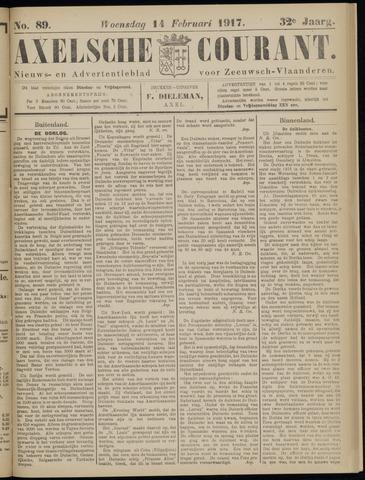 Axelsche Courant 1917-02-14