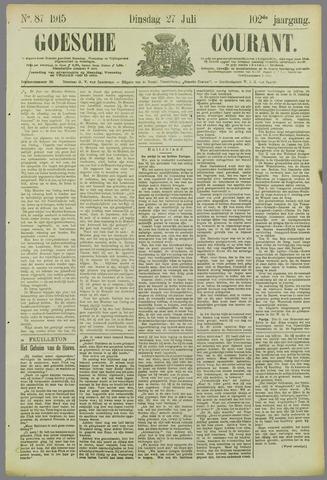 Goessche Courant 1915-07-27