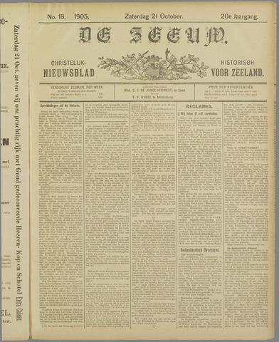 De Zeeuw. Christelijk-historisch nieuwsblad voor Zeeland 1905-10-21