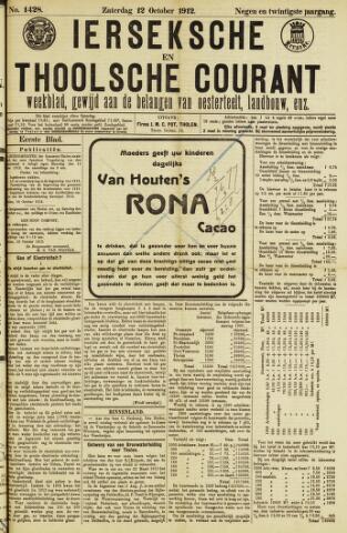 Ierseksche en Thoolsche Courant 1912-10-12