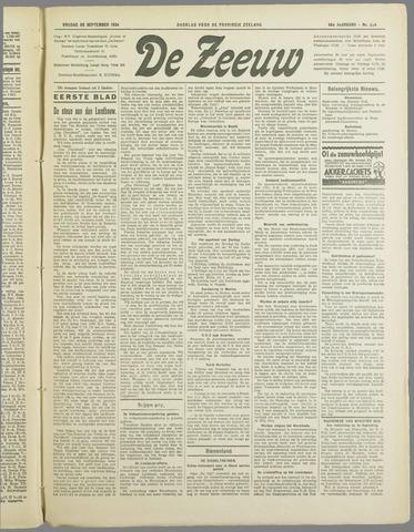 De Zeeuw. Christelijk-historisch nieuwsblad voor Zeeland 1934-09-28