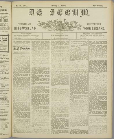 De Zeeuw. Christelijk-historisch nieuwsblad voor Zeeland 1897-08-07