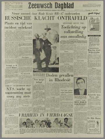Zeeuwsch Dagblad 1960-07-27