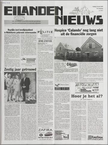 Eilanden-nieuws. Christelijk streekblad op gereformeerde grondslag 2000-06-16