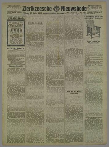 Zierikzeesche Nieuwsbode 1923-02-23