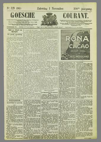 Goessche Courant 1913-11-01