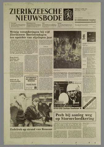 Zierikzeesche Nieuwsbode 1987-04-03