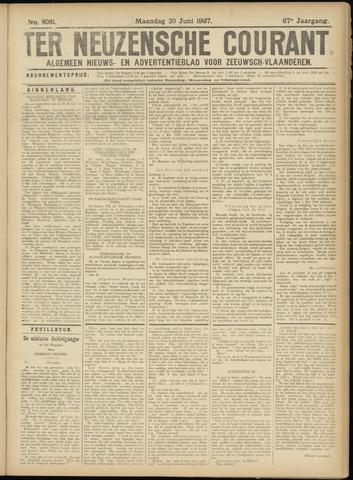 Ter Neuzensche Courant. Algemeen Nieuws- en Advertentieblad voor Zeeuwsch-Vlaanderen / Neuzensche Courant ... (idem) / (Algemeen) nieuws en advertentieblad voor Zeeuwsch-Vlaanderen 1927-06-20