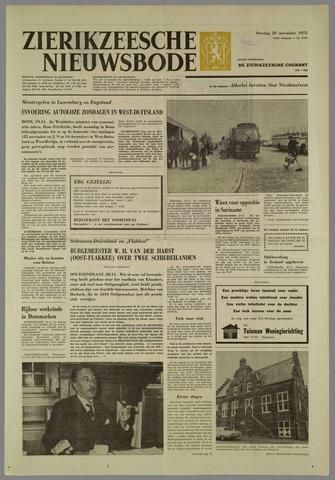 Zierikzeesche Nieuwsbode 1973-11-20
