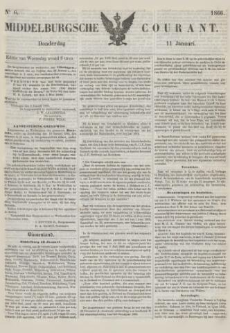 Middelburgsche Courant 1866-01-11