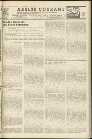 Axelsche Courant 1957-05-08