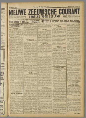 Nieuwe Zeeuwsche Courant 1922-08-22