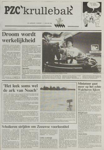 Provinciale Zeeuwse Courant katern Krullenbak (1981-1999) 1994-01-11