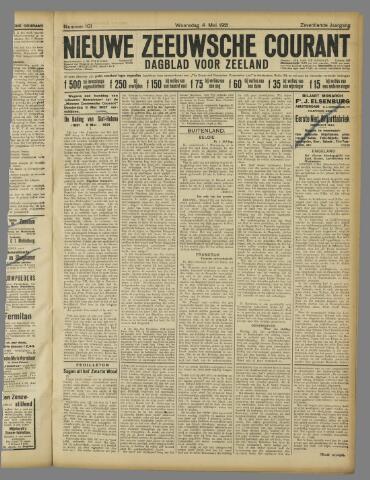 Nieuwe Zeeuwsche Courant 1921-05-04