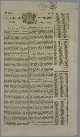 Goessche Courant 1822-04-01