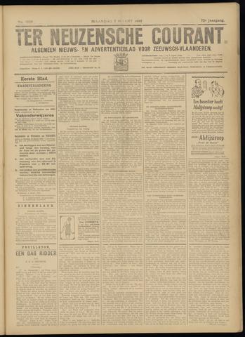 Ter Neuzensche Courant. Algemeen Nieuws- en Advertentieblad voor Zeeuwsch-Vlaanderen / Neuzensche Courant ... (idem) / (Algemeen) nieuws en advertentieblad voor Zeeuwsch-Vlaanderen 1932-03-07