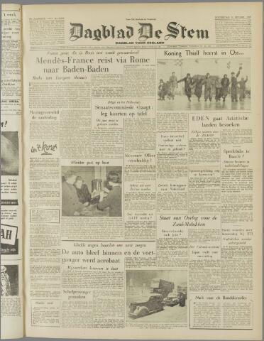 de Stem 1955-01-06